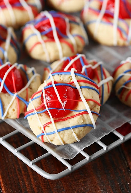 Red-White-Blue-Cherry-Almond-Cookies-Image 2